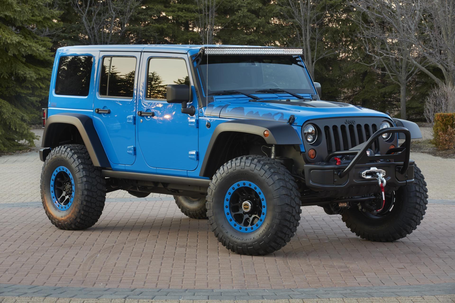 Jeep Rubicon Jk 4 Door Blue Google Search