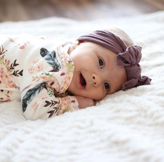 Photo of Organic romper, baby girl clothes, baby snap romper, more colors