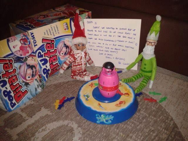 #elf #elfontheshelf #elfideas #christmaself