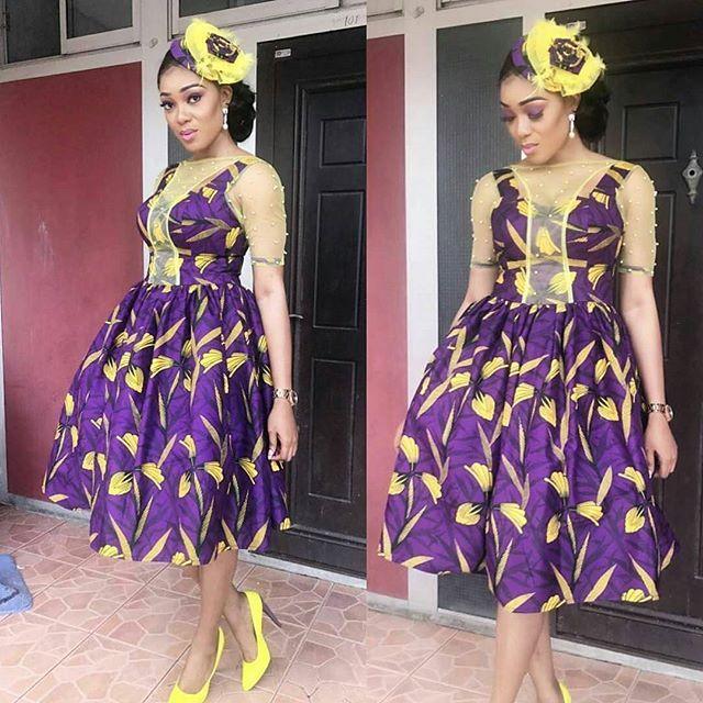 Latest Ankara Gown Styles 2017 Bébé Choux Ankara Gown Styles