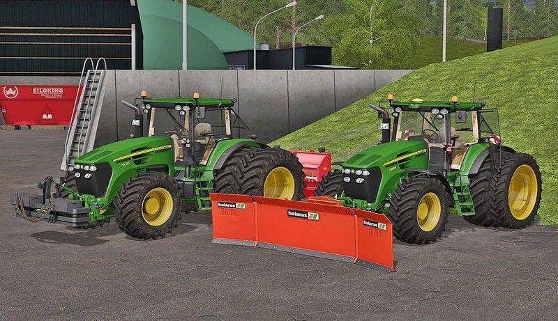 John Deere 7030 Serie V 2 1 FS 17 - Farming Simulator 17 mod