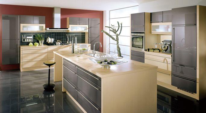 Kutchenhaus, Xeno - Anthracite Ultra High Gloss | Modern ...