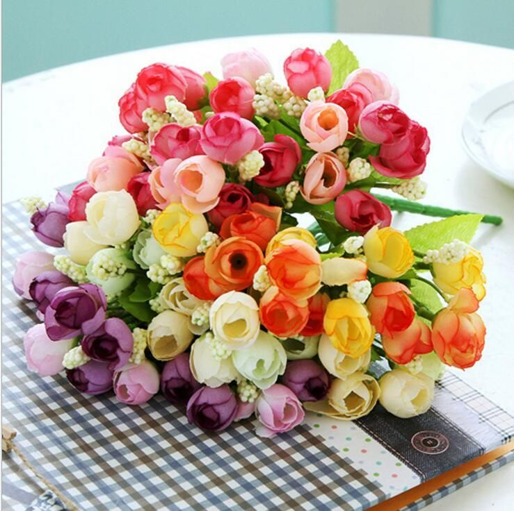 Free Ship Artficial Flowers 1 Bouquet Large Foam Roses Party Decoration Real Touch Roses 5 Branch Rose Balls Weddings Wreath From Ginnystore, $0.4 | Dhgate.Com