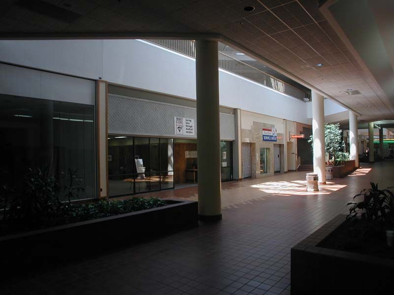 North Side of the abandoned Villa Italia Mall In Lakewood