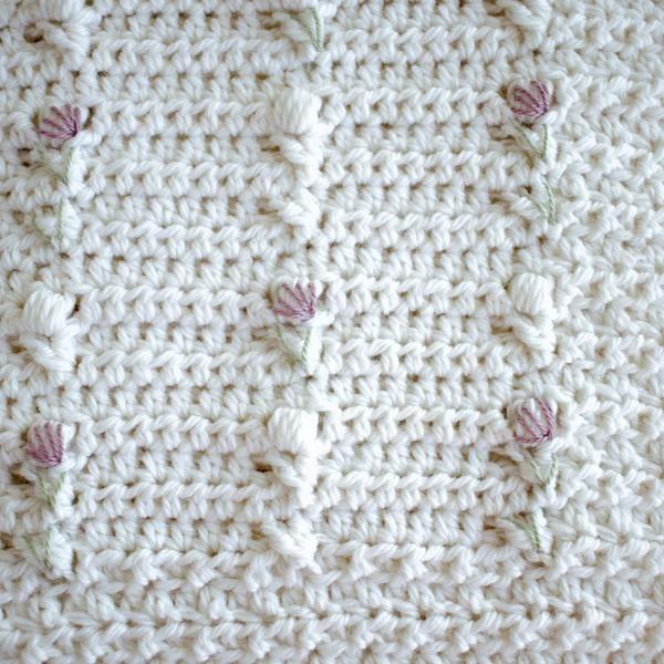 Crochet Pattern - Lakeshore Trellis Baby Blanket P121 | Blanket ...
