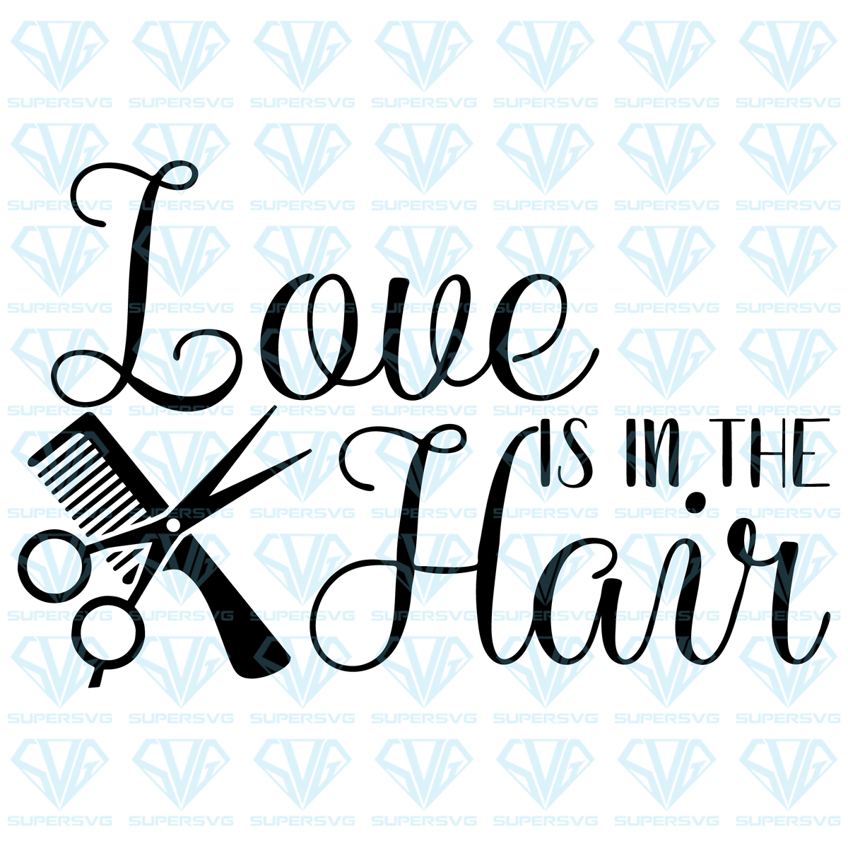 Download Free Svg Files LOVE IS IN THE HAIR SVG Files For ...