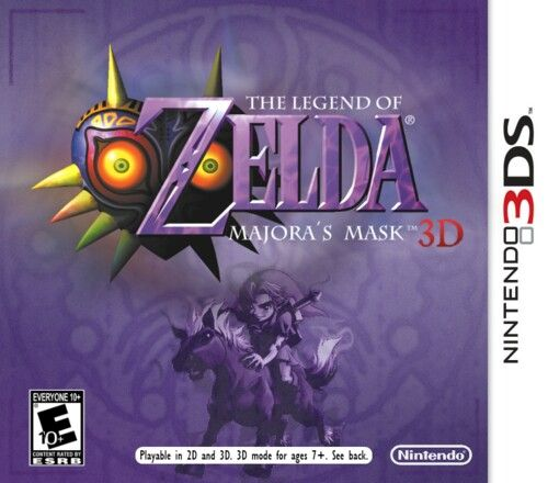The Legend of Zelda Majora's Mask 3D. Yes, this is real! Was announced on Nintendo direct! Can't wait to buy it next year!