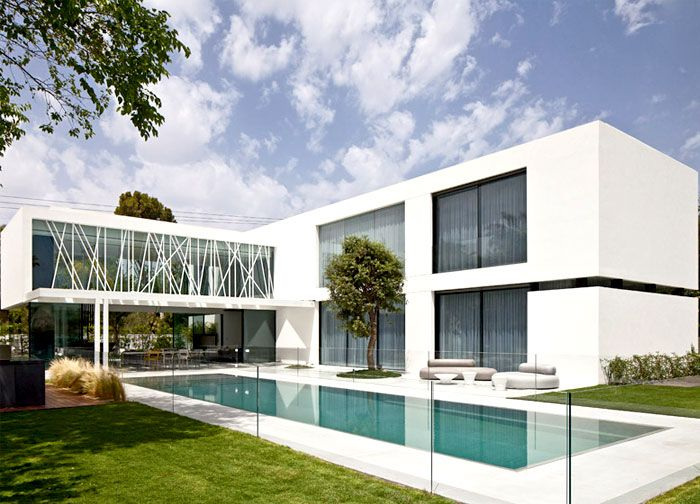 Party House Project By Pitsou Kedem Architects Architecture House Design House Exterior