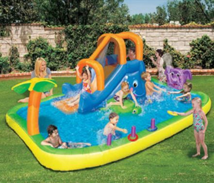 The 9 Best Kiddie Pools Of 2020 Kids Water Slide Kid Pool Kiddie Pool