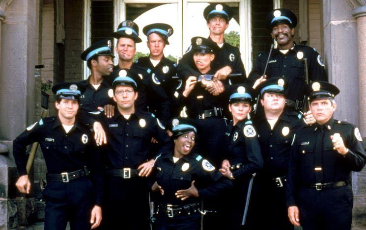 Police Academy In 2021 Police Academy Movie Police Academy Steve Guttenberg