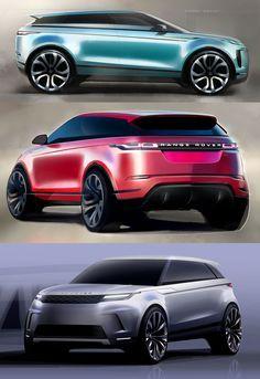 New Range Rover Evoque: Design Sketches #RangeRoverEvoque #CarDesign #RangeRover #Evoque #CarBodyDesign #Design #DesignSketch #DesignSketches
