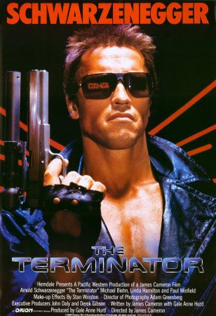 Best Pick Up Line Ever Come With Me If You Want To Live Terminator Movies Terminator Movie Posters