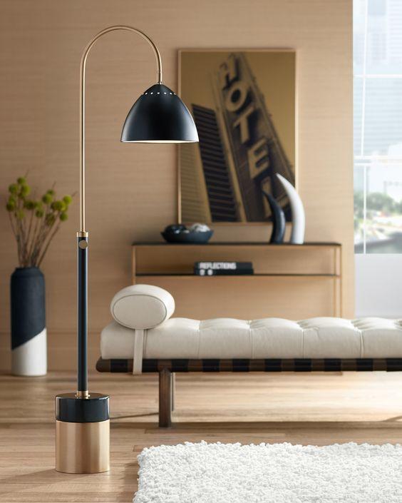 Archer Floor Lamp | Modern floor lamps, Mid century modern