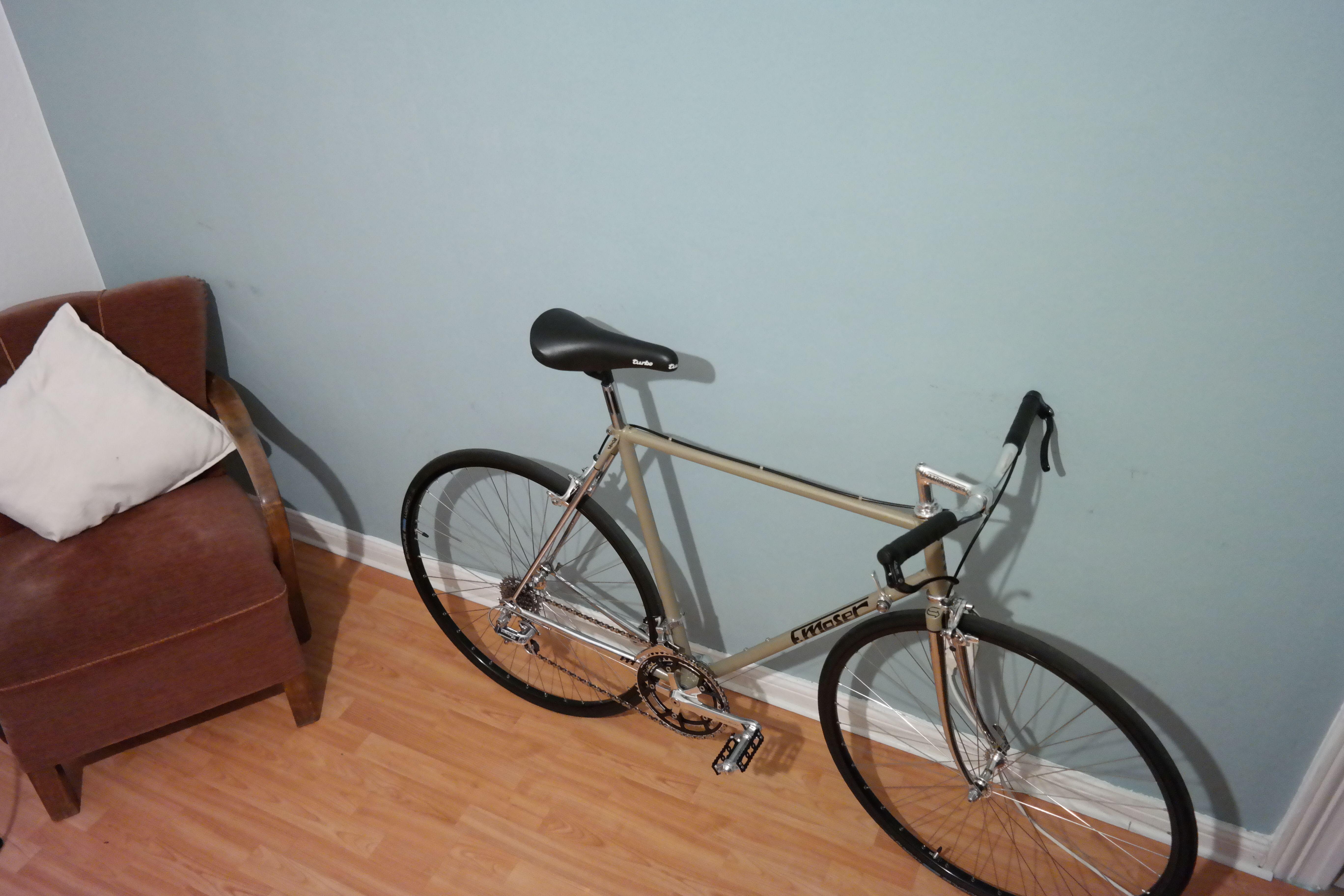 Moser, Speedbike, Rennrad, Roadbike, Steel is Real, Handbuild