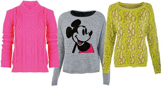 Cosy jumpers with a spring twist! #Missguided #MissSelfridge #RiverIsland