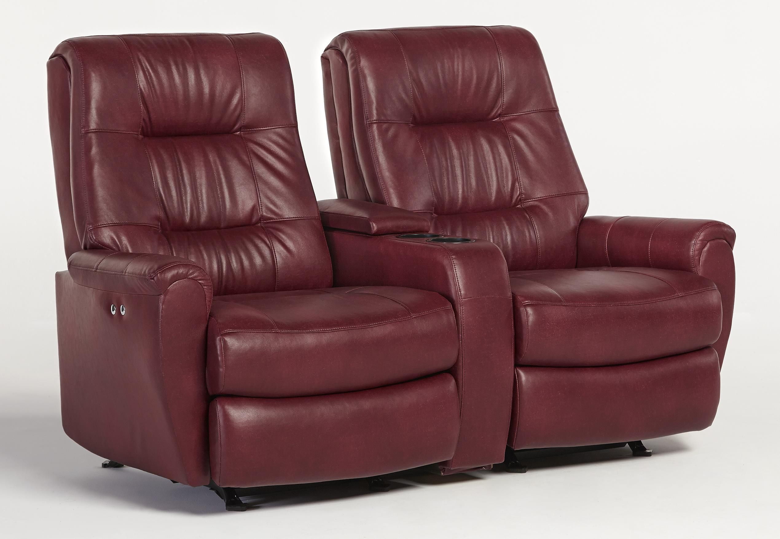 Recliner Loveseats For Small Spaces Small Scale Reclining Space