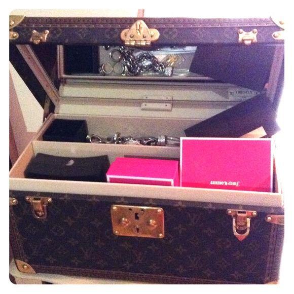 Louis Vuitton Bags Louis Vuitton jewelry box travel case
