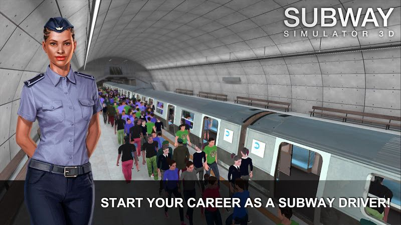 Subway Simulator 3d Mod Unlimited Money Simulation Games