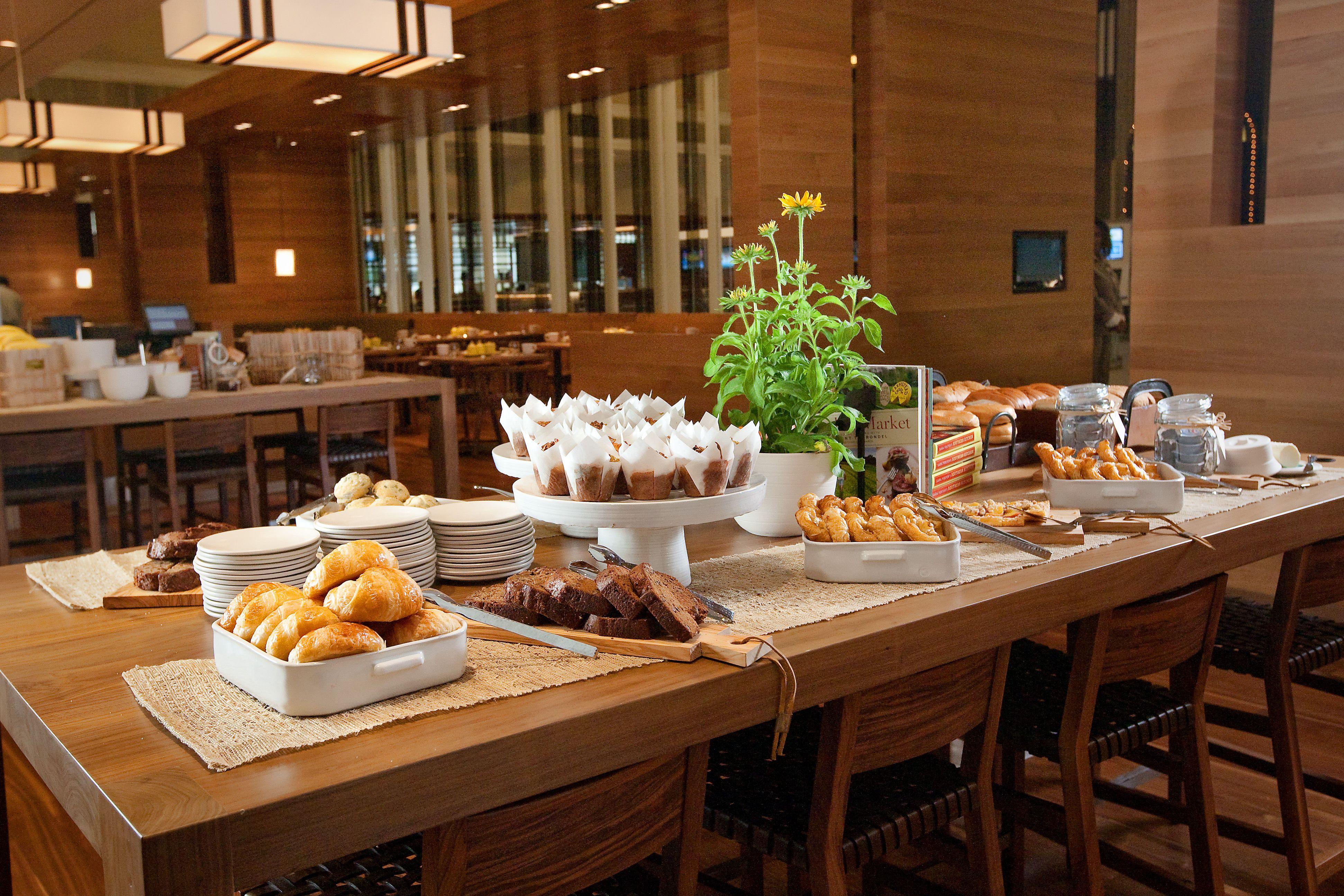 Sway's Pastry Display at Hyatt Regency Atlanta Hotel