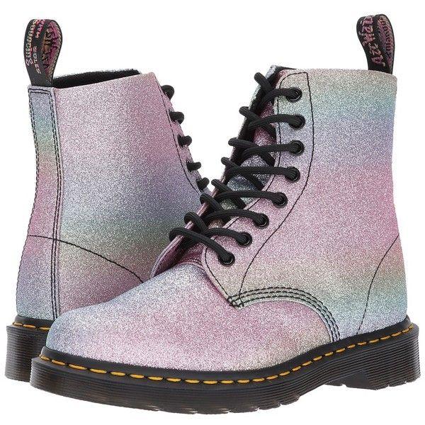 1456b1efc10 Dr. Martens Pascal Glitter 8-Eye Boot (Multi Glitter PU) Women s Boots