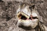 Tyrannosaurus showing his toothy mouth