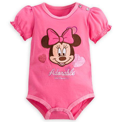 Minnie Mouse Bodysuit For Baby Walt Disney World Oh Baby