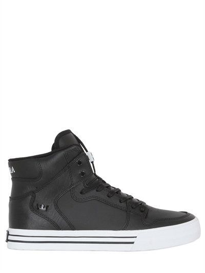 SNEAKERS SUPRA HIGH LUXURY TOP LEATHER VIDER LUISAVIAROMA qPpxwAfP