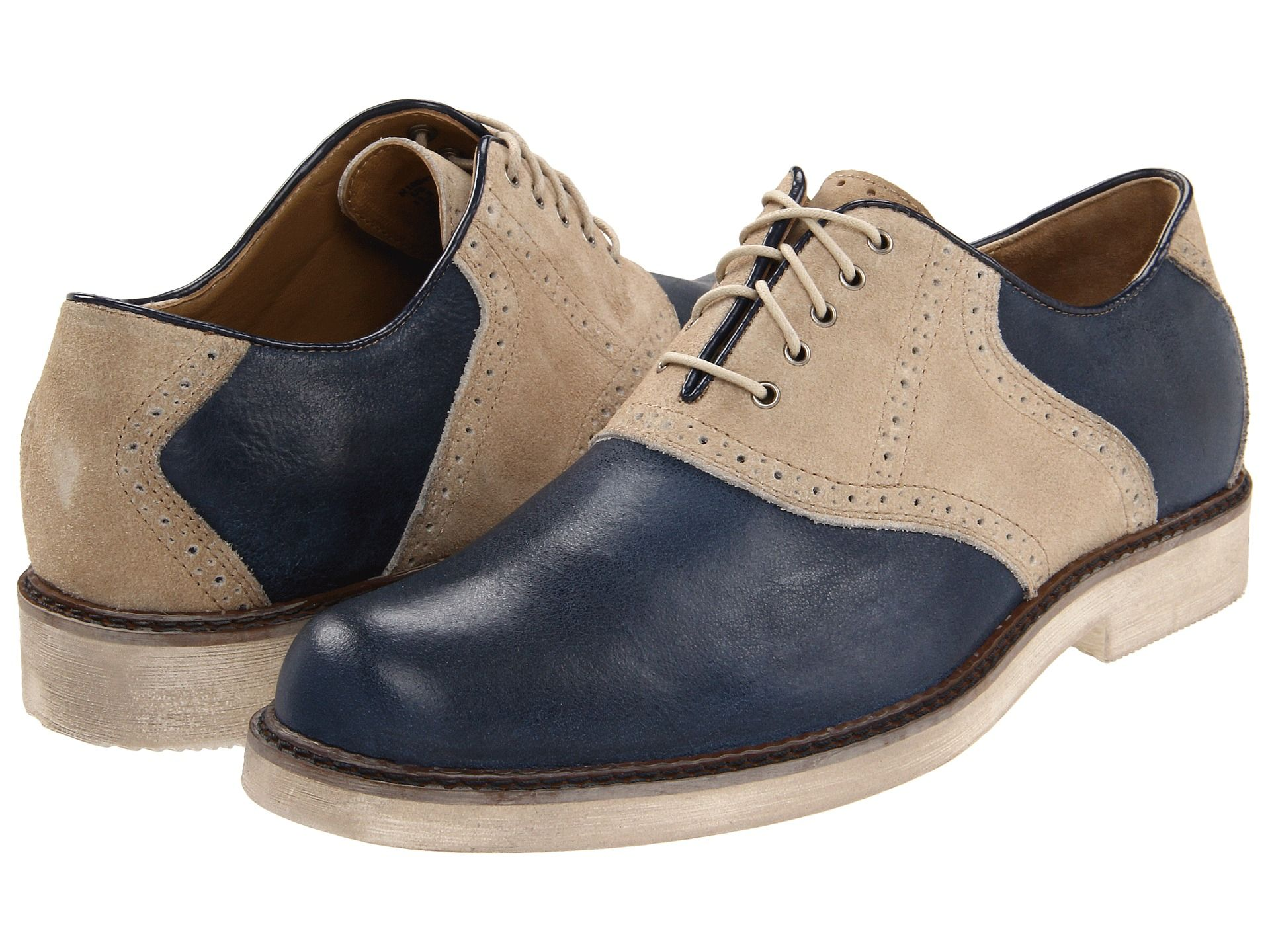 Hush Puppies Authentic Blue Leather