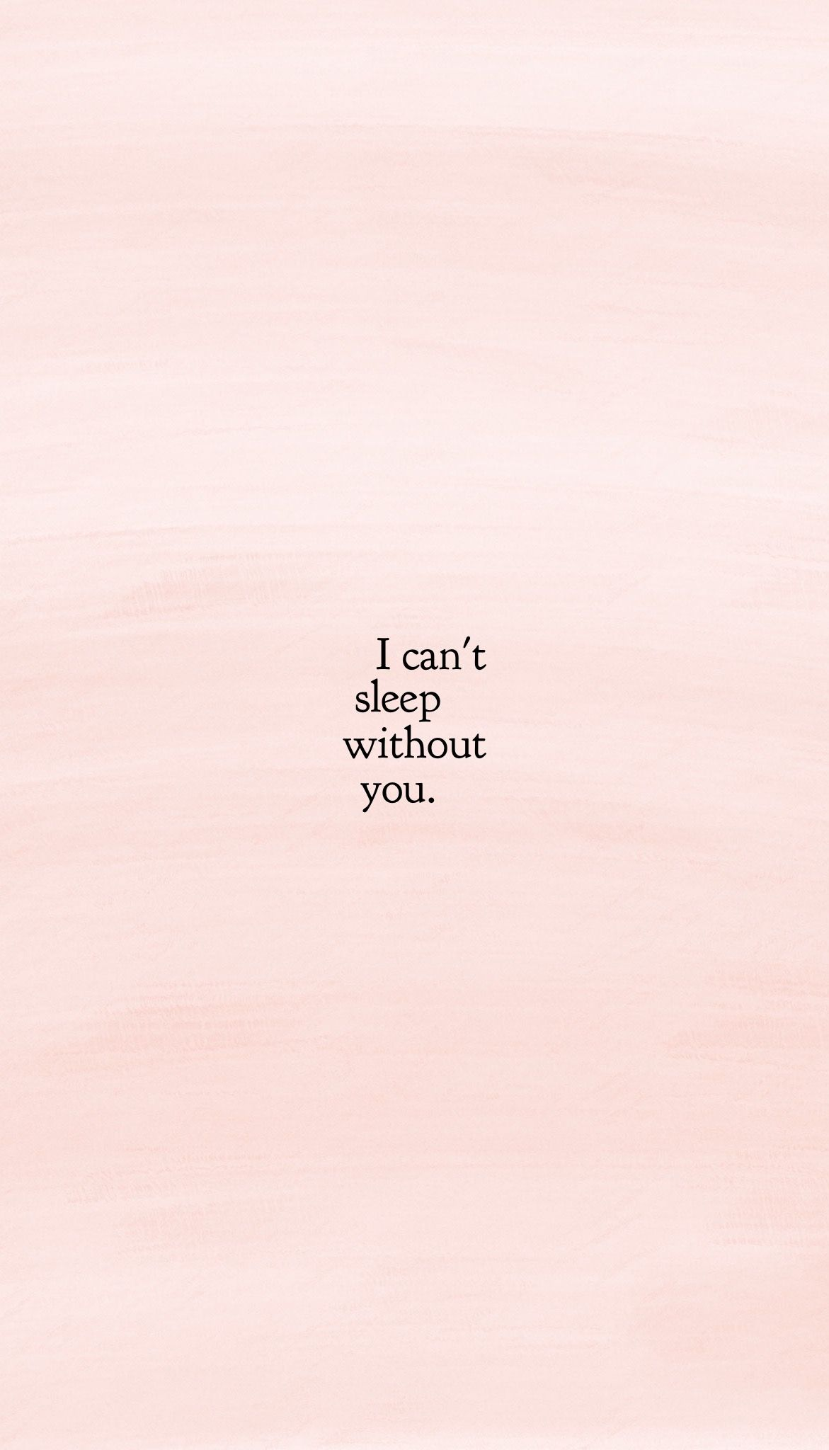 I can\'t sleep without you. @herwonderfulday | Cant sleep ...
