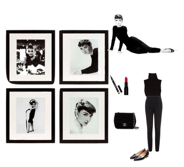 """love Audrey"" by olimanaj3 ❤ liked on Polyvore featuring Eichholtz, Vielma London, Rupert Sanderson, Marc Jacobs, Chanel, Yves Saint Laurent, Smashbox and audreyhepburn"