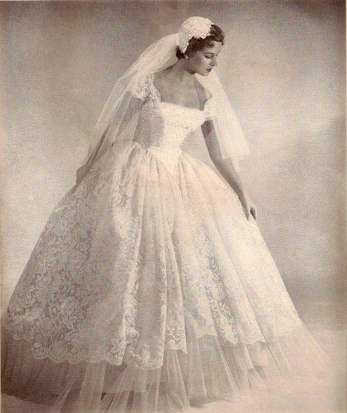 Vintage Bride Wedding Gowns Vintage 1950s Wedding Dress Wedding Dresses Vintage