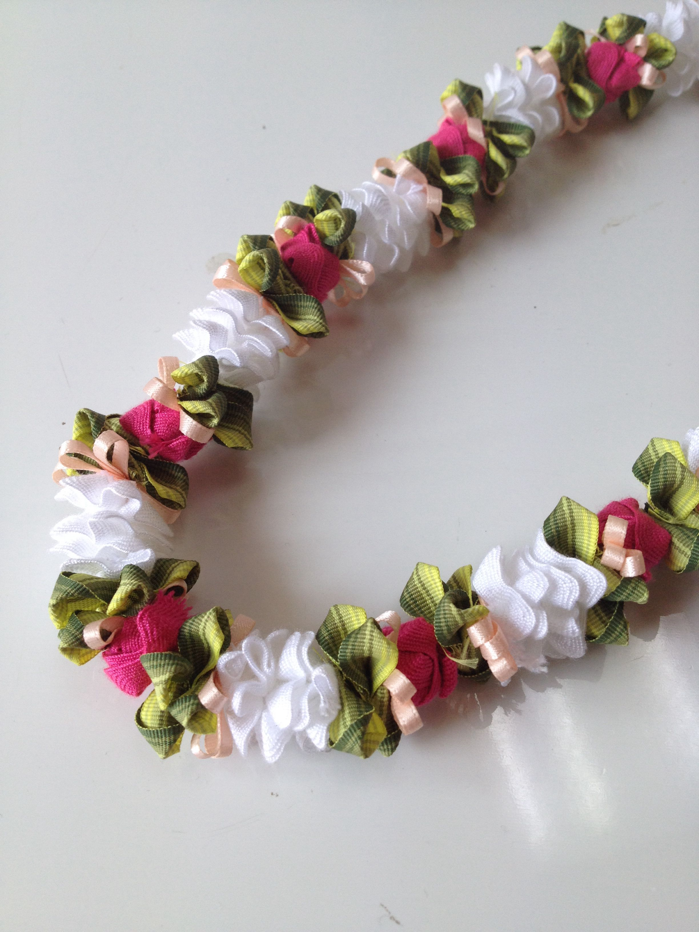 Tuberose with lokelani ribbon lei ribbon lei pinterest tuberose with lokelani ribbon lei izmirmasajfo