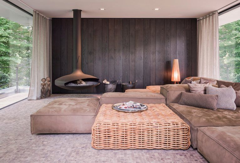 House In A Urban Jungle - Living Divani e Gervasoni