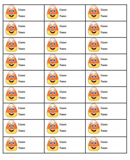 photograph about Guess Who Game Printable called Print out this sweet corn guessing video game sheet and minimize into