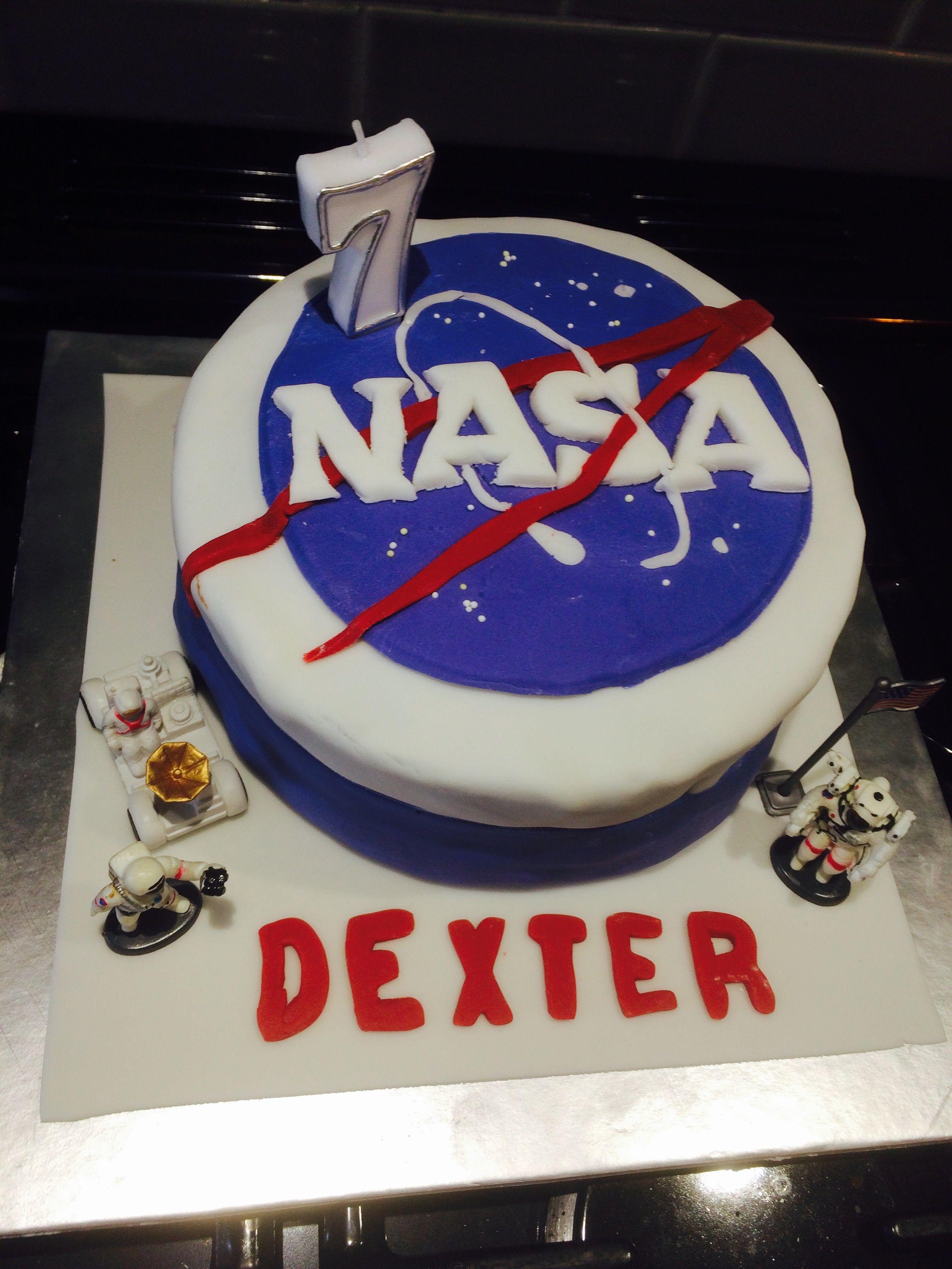 NASA birthday cake Nasa party, Camping birthday party