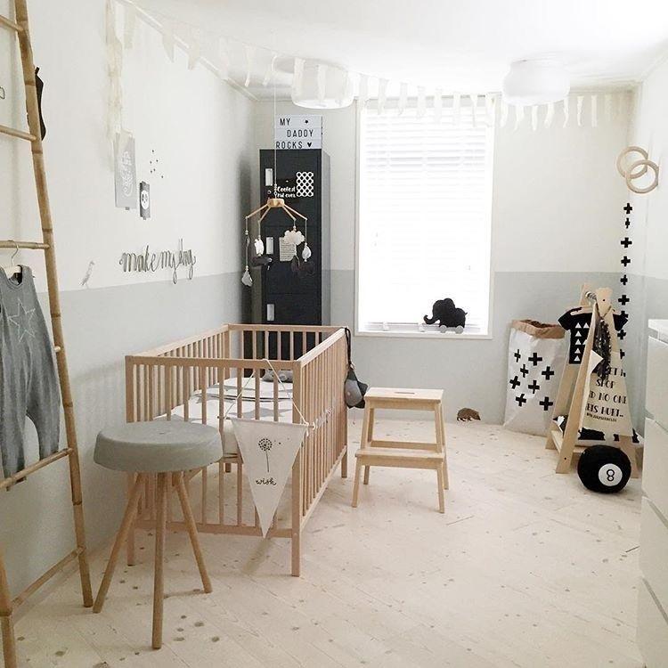 Babykamer Wit Grijs.Pin Op Kidsroom