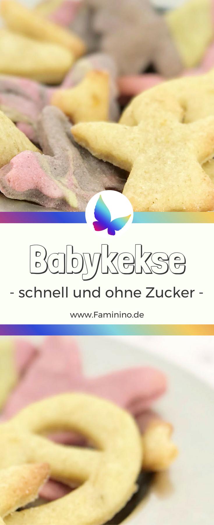 Babykekse ohne Zucker – Rezept für schnelle Plätzchen