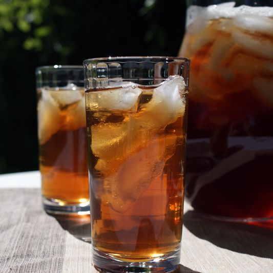 Iced Tea I M Skeptical At The Proportion Of Bags To Sugar 13 Teabags Per Gallon Only Use 5 When Make 1 3 Cup