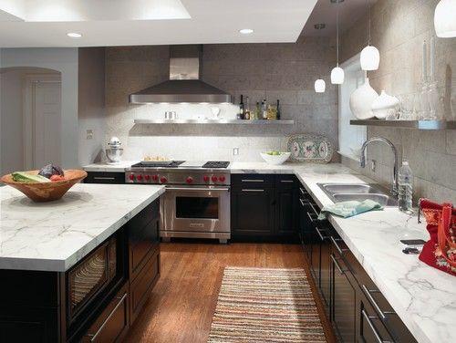 Formica Laminate Counters Calacatta Marble 180fx 3460 8 20 Per Square Foot Including In Marble Countertops Kitchen Kitchen Design Granite Kitchen Counters