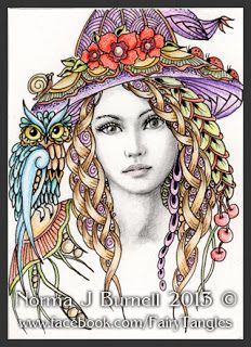 Fairy Tangles Could Be Quilled Quilling GirlsWomen