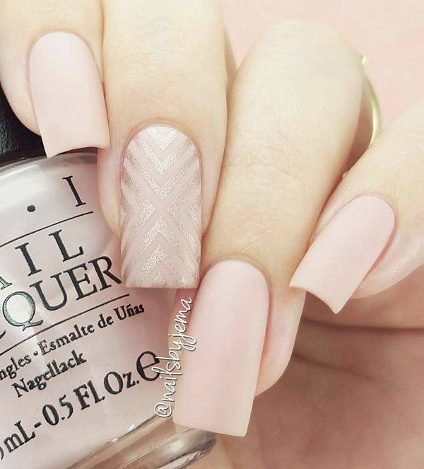 45 Chic Classy Nail Designs | Wide nails, Bitten nails and Rose nails