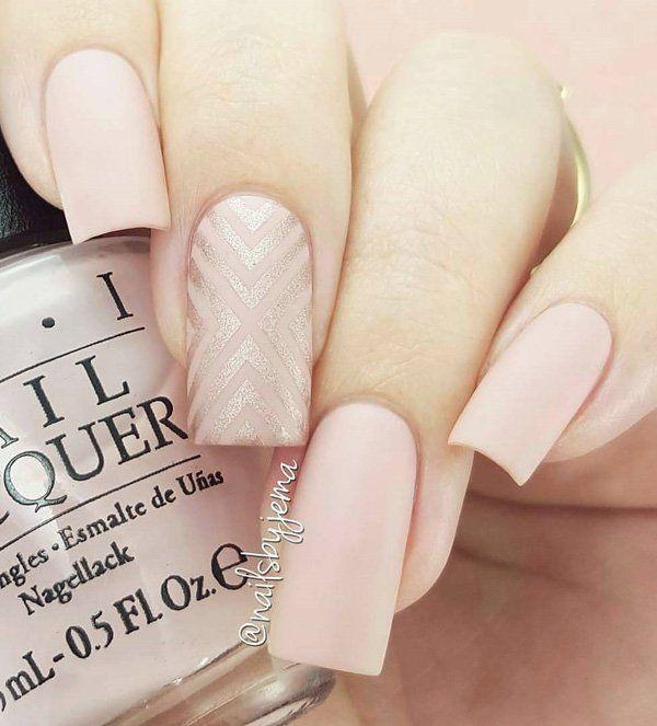 45 Chic Classy Nail Designs Chevron Nails Pinterest Wide Nails