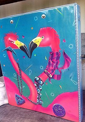 8d594f2c87c216 Vintage-Mead-Kissing-Rock-Star-FLAMINGO-Binder-Trapper-Keeper-RARE. I had  this one and didn t care for it much.