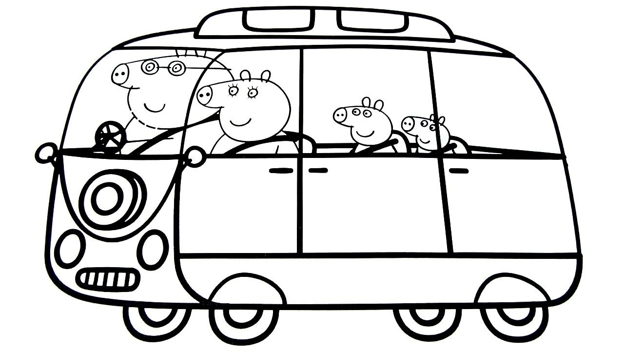 Awesome Long Trailer Truck Coloring Page