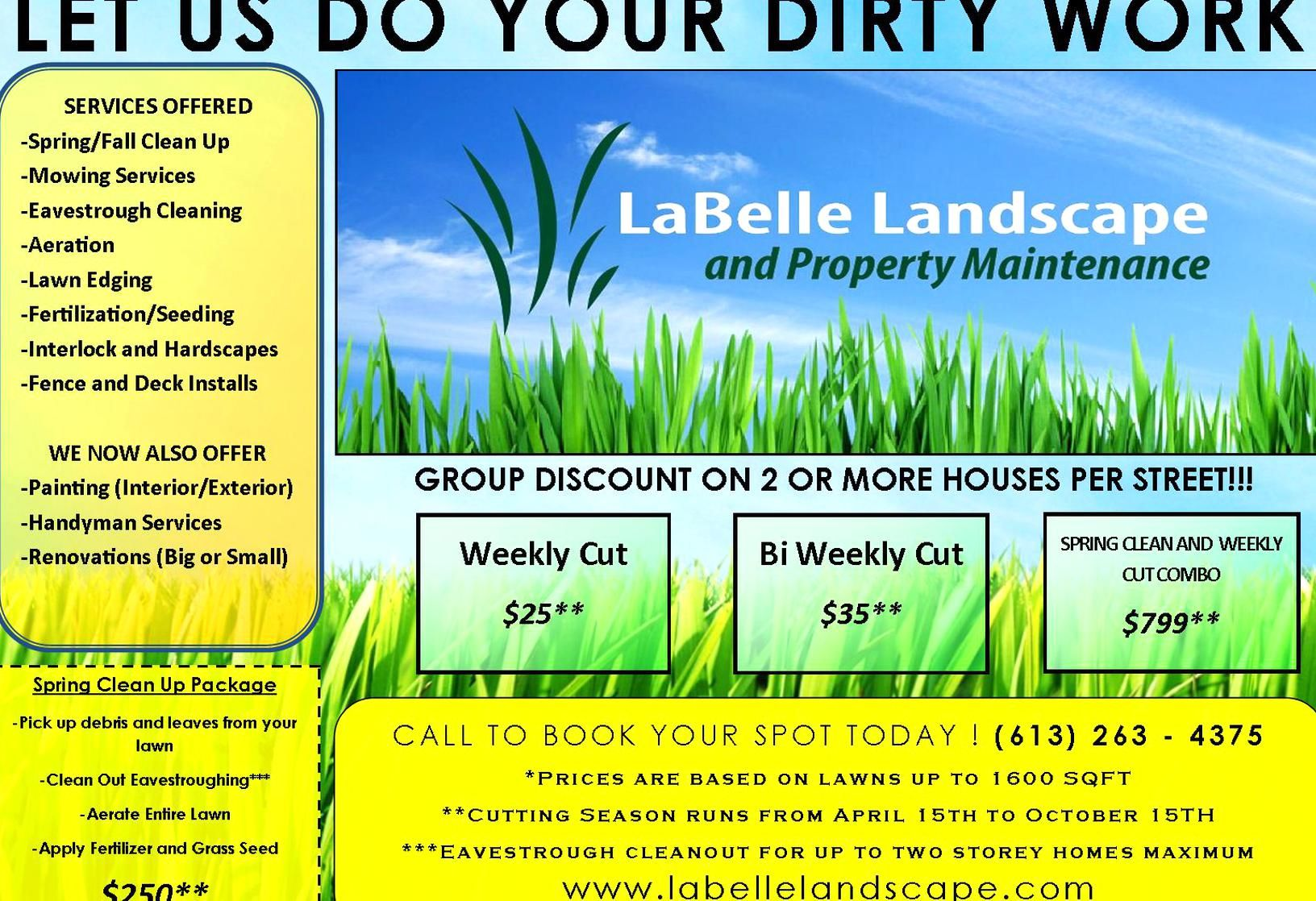 Lawn Care Flyer Ideas Awesome Lawn Care Flyer Free Template Flyer Templates In 2020 Lawn Care Flyers Lawn Care Business Mowing Services