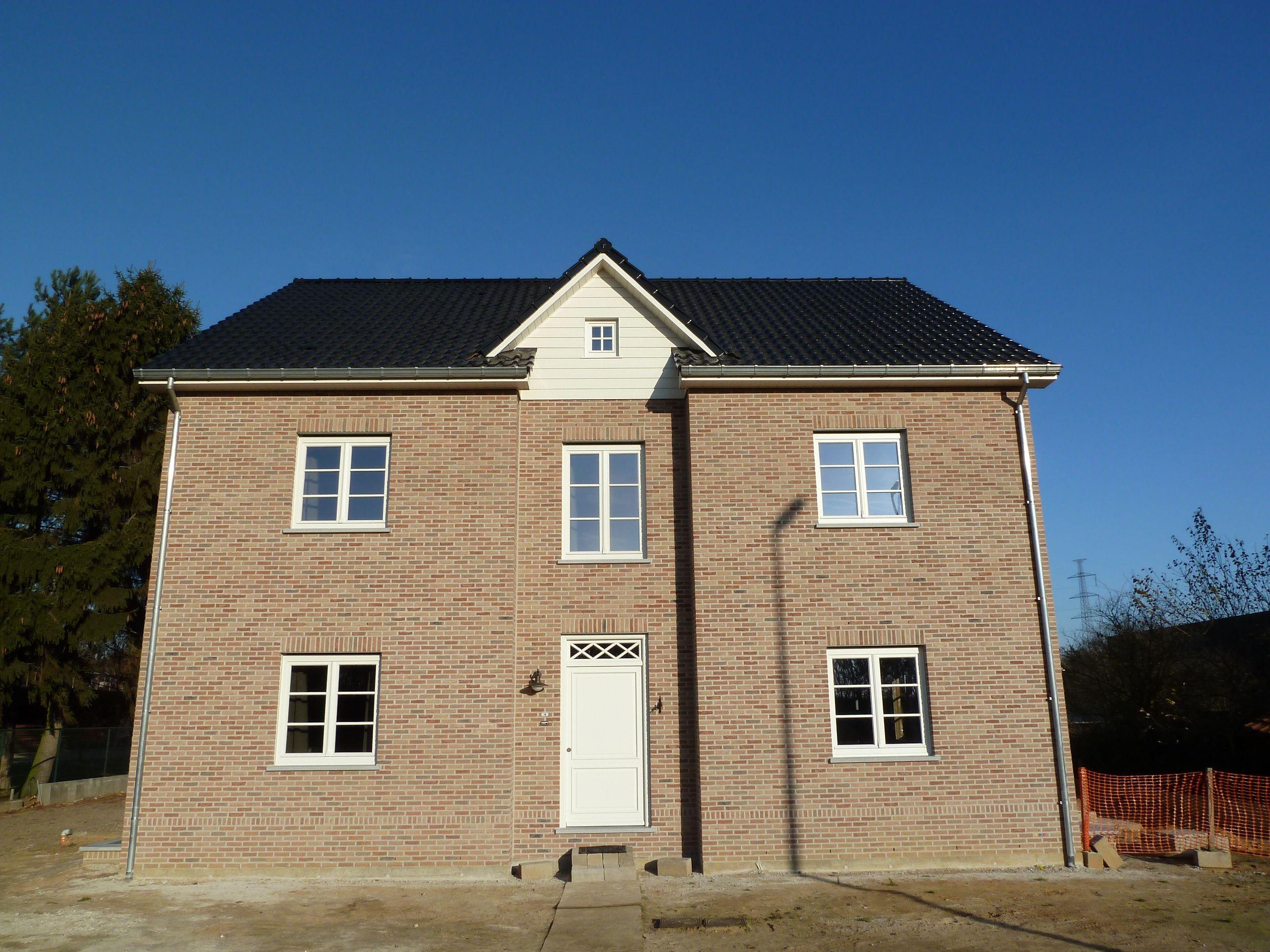 Huis - gebouwd met een T15 baksteen van steenfabriek Nelissen