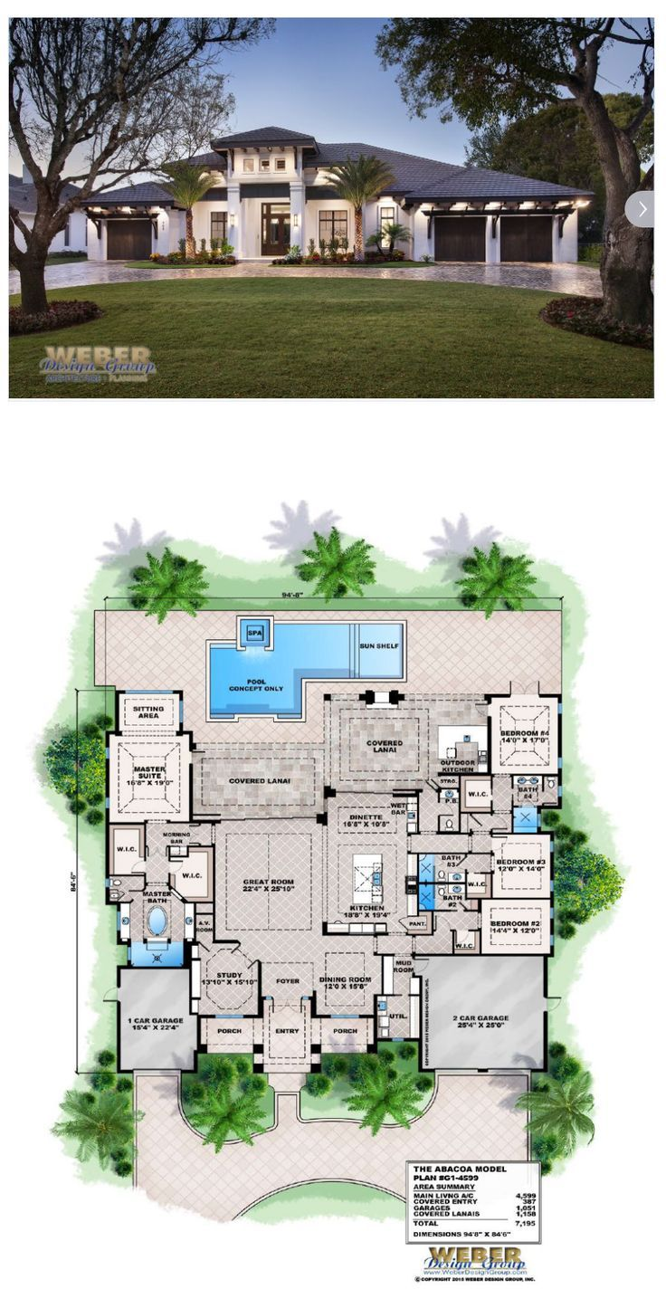 Beach House Plan Transitional West Indies Caribbean Style Floor Plan Beach House Plan Beach House Plans Beach House Flooring