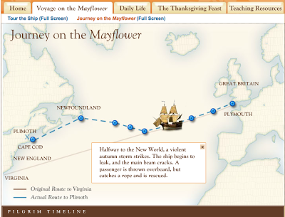 Free Technology for Teachers: Touring the Mayflower and Daily Life in Plymouth