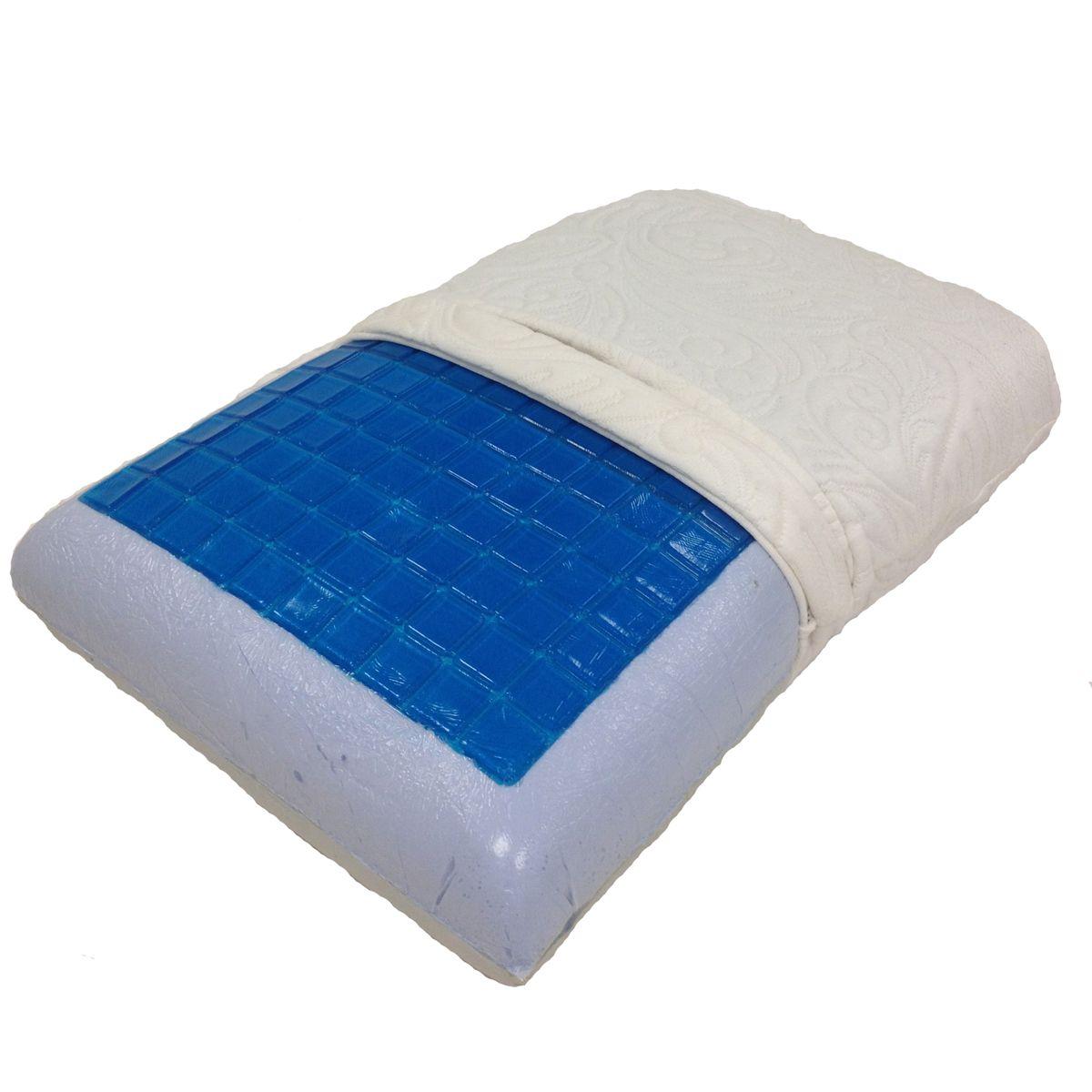 Single Standard Size Hybrid Symphony Memory Foam Pillow by Abripedic