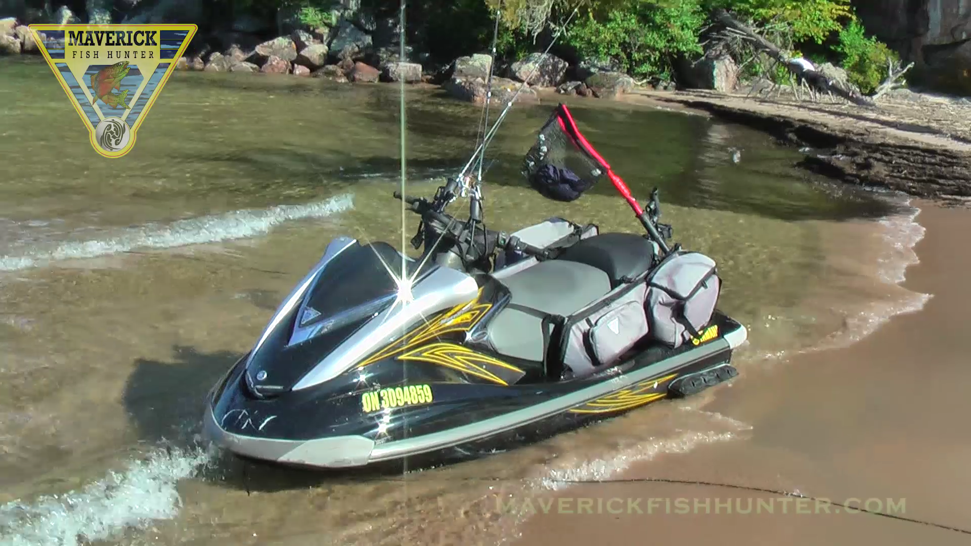 If Your Looking To Get Into Pwc Jetski Fishing Maverick Bags And Brackets Are The Ticket This Is The Safest And Most Eco Jet Ski Fishing Fishing Store Skiing